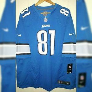 NFL Detroit Lions Calvin Johnson Nike Jersey 2XL
